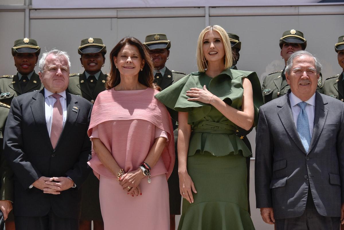 Ivanka Trump Visits Colombia