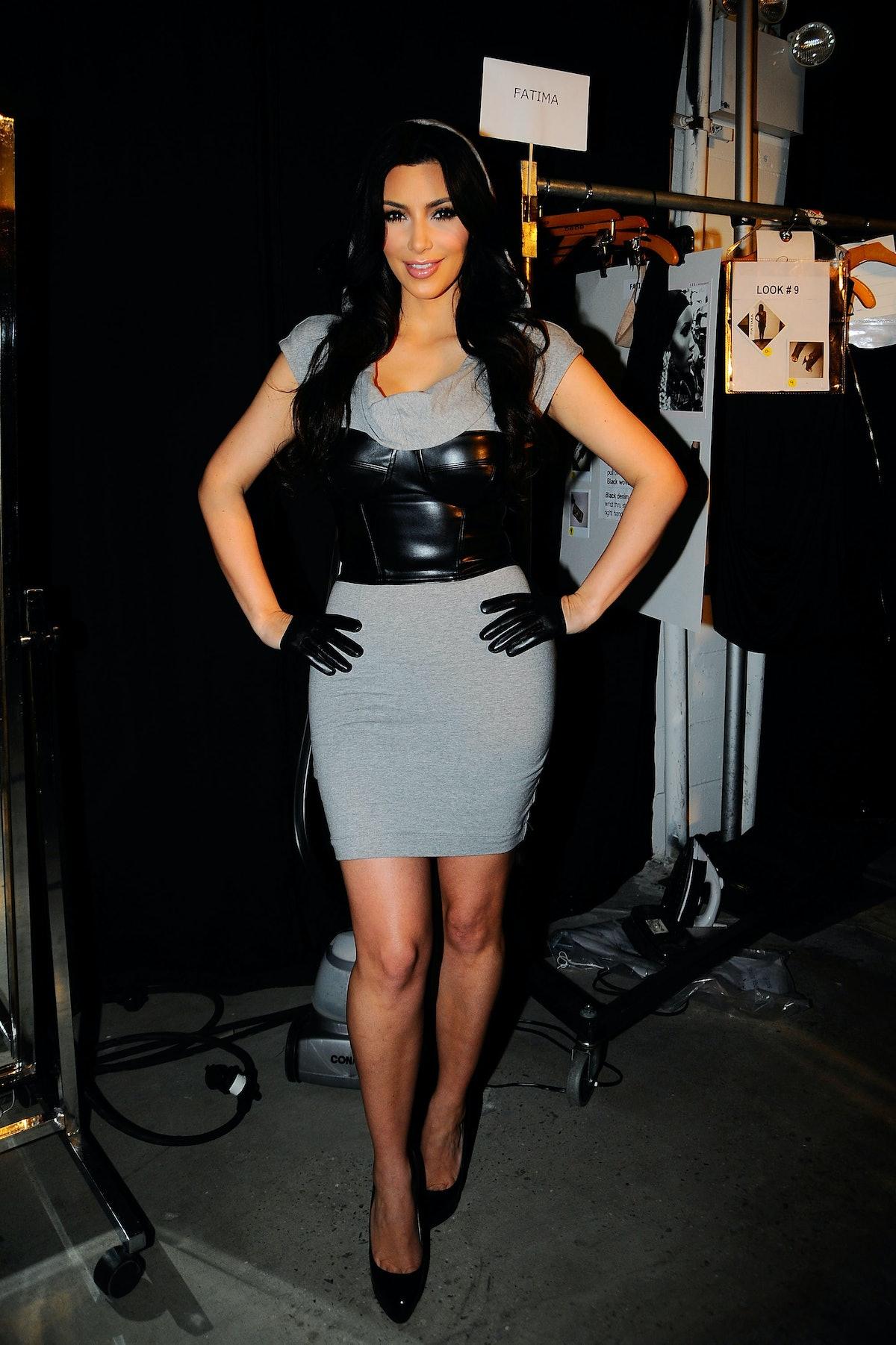 Bebe - Kardashian - Backstage - Fall 2010 MBFW