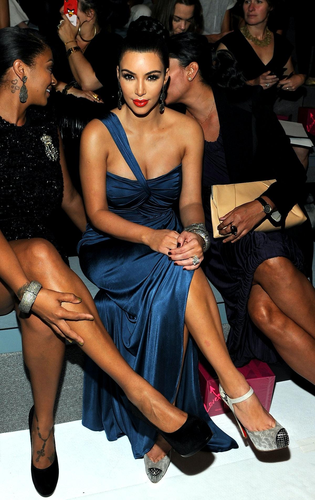 Vera Wang - Front Row - Spring 2012 Mercedes-Benz Fashion Week