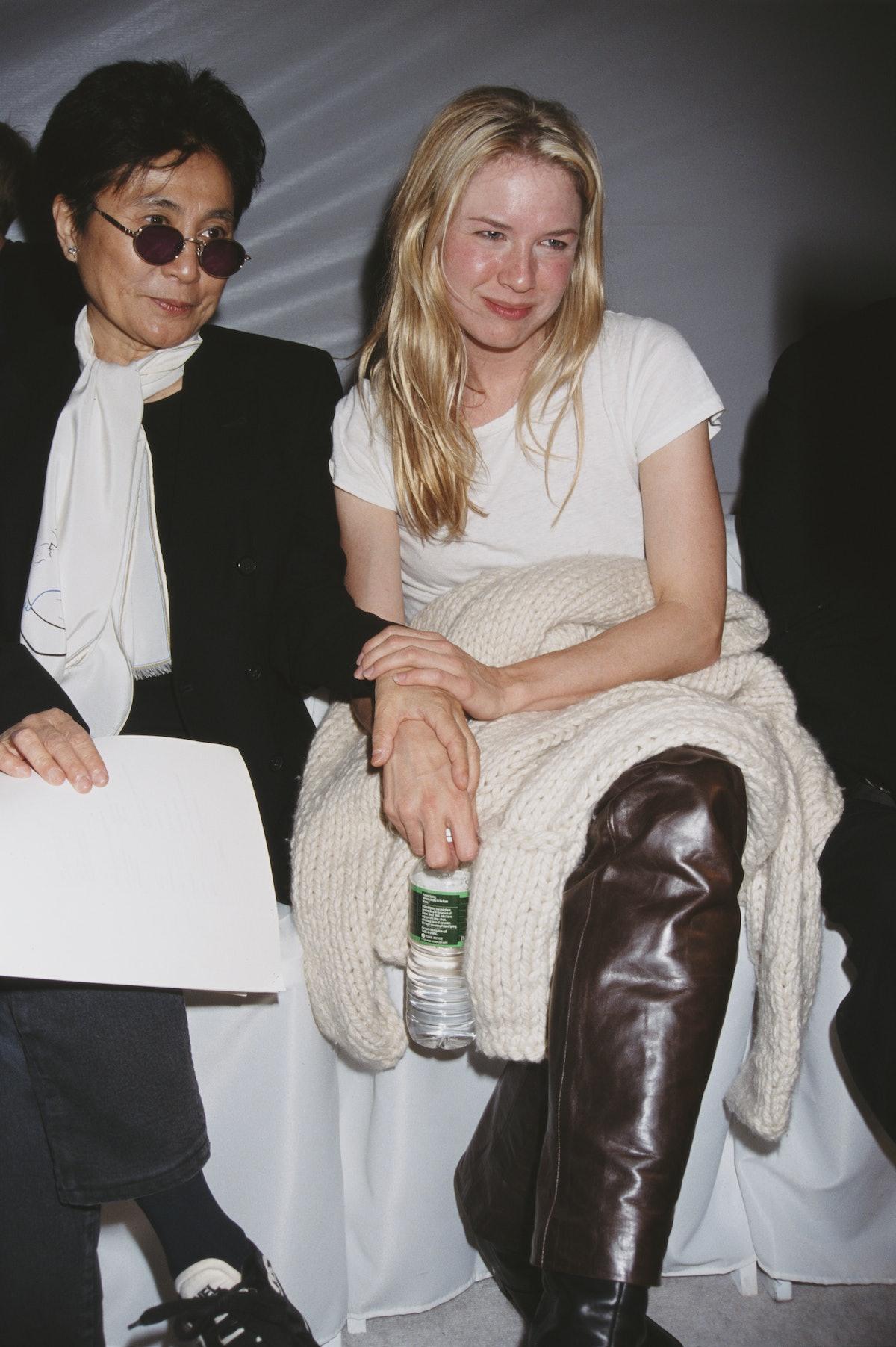 Renee Zellweger And Yoko Ono