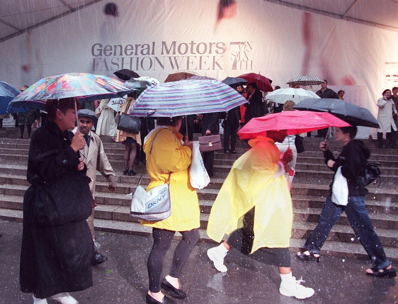 Rains from Hurricane Floyd hit New York City 16 Se