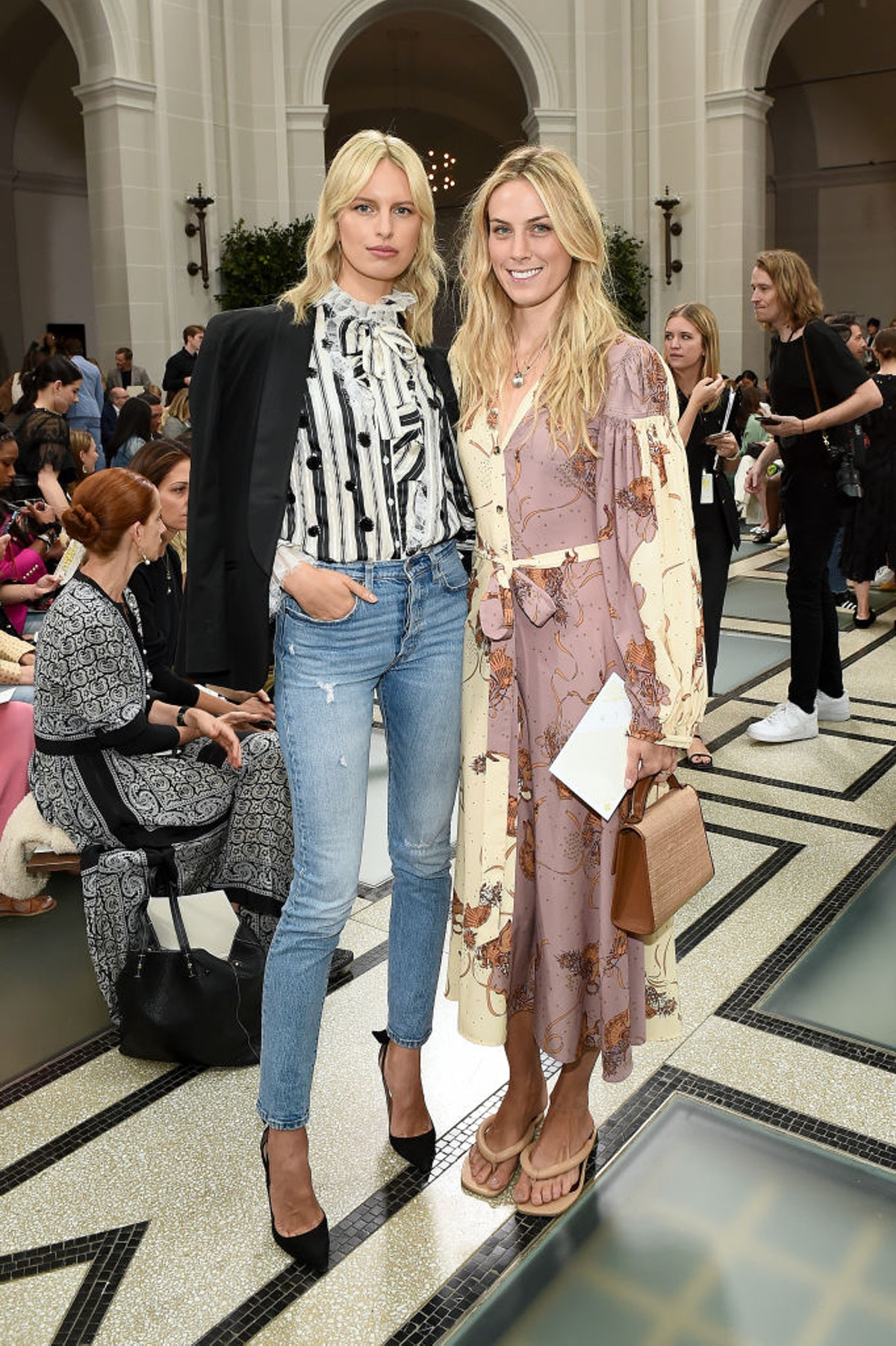 Tory Burch NYFW SS20 - Backstage & Front Row
