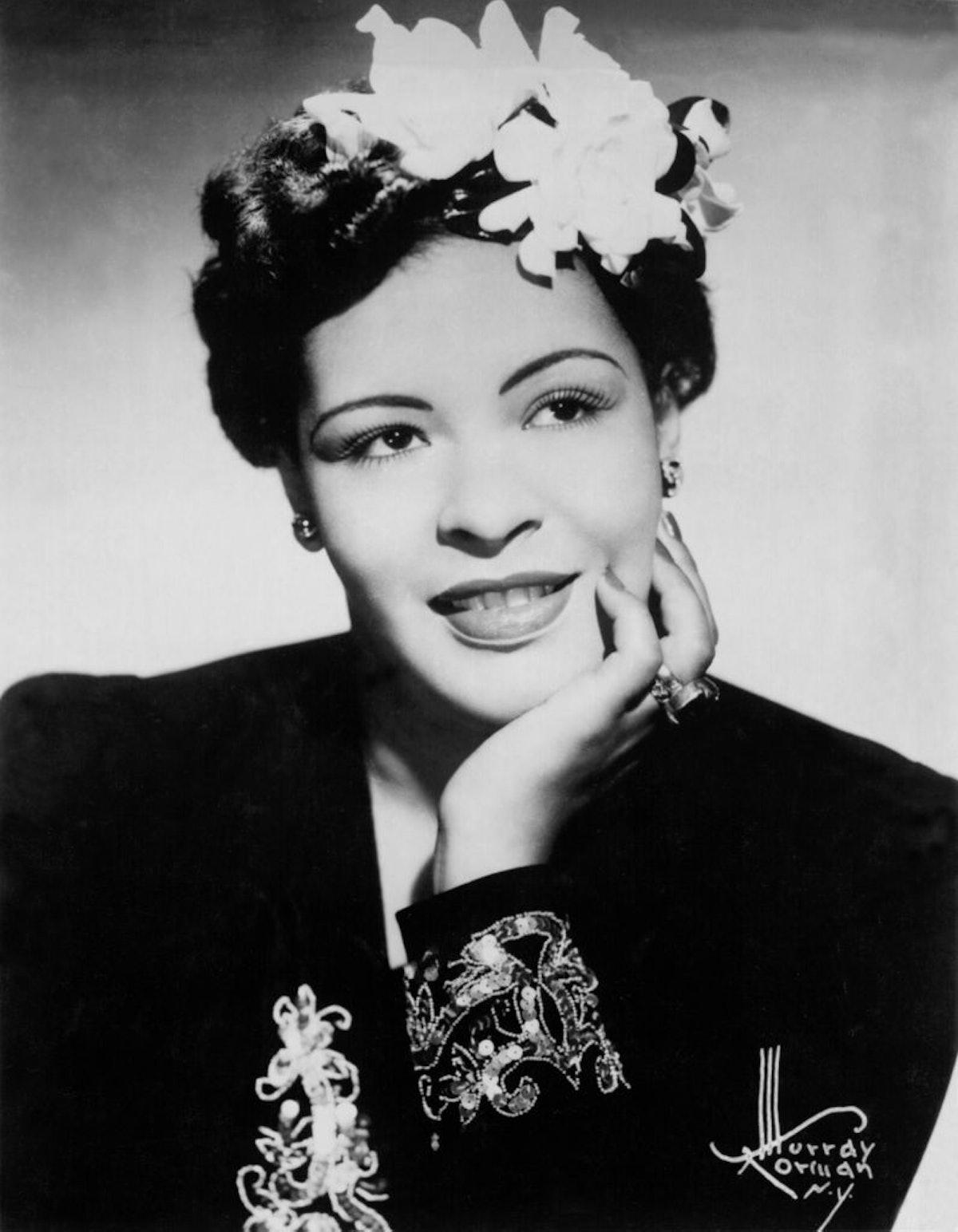 Billie Holiday Portrait