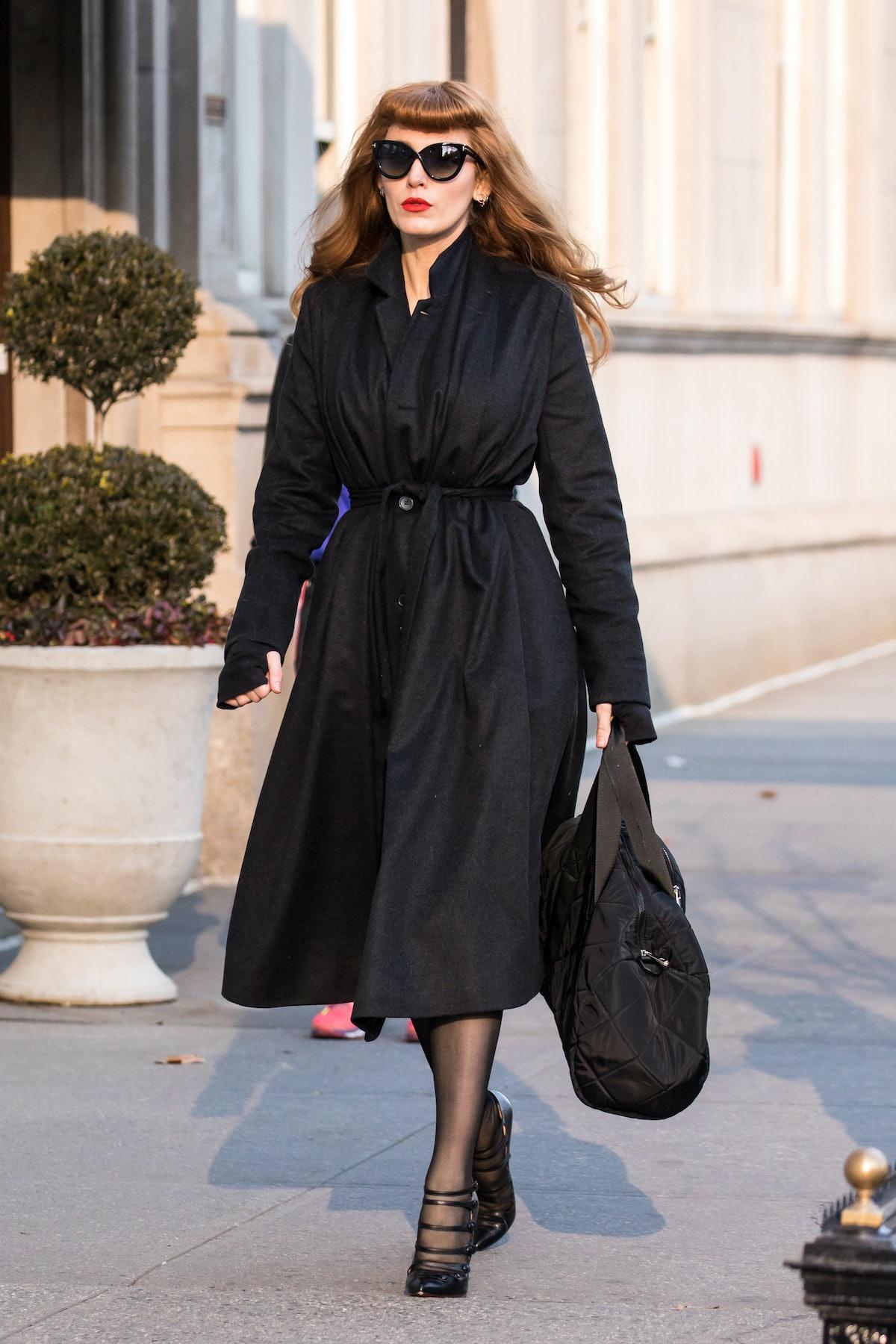 Celebrity Sightings in New York City - January 14, 2018