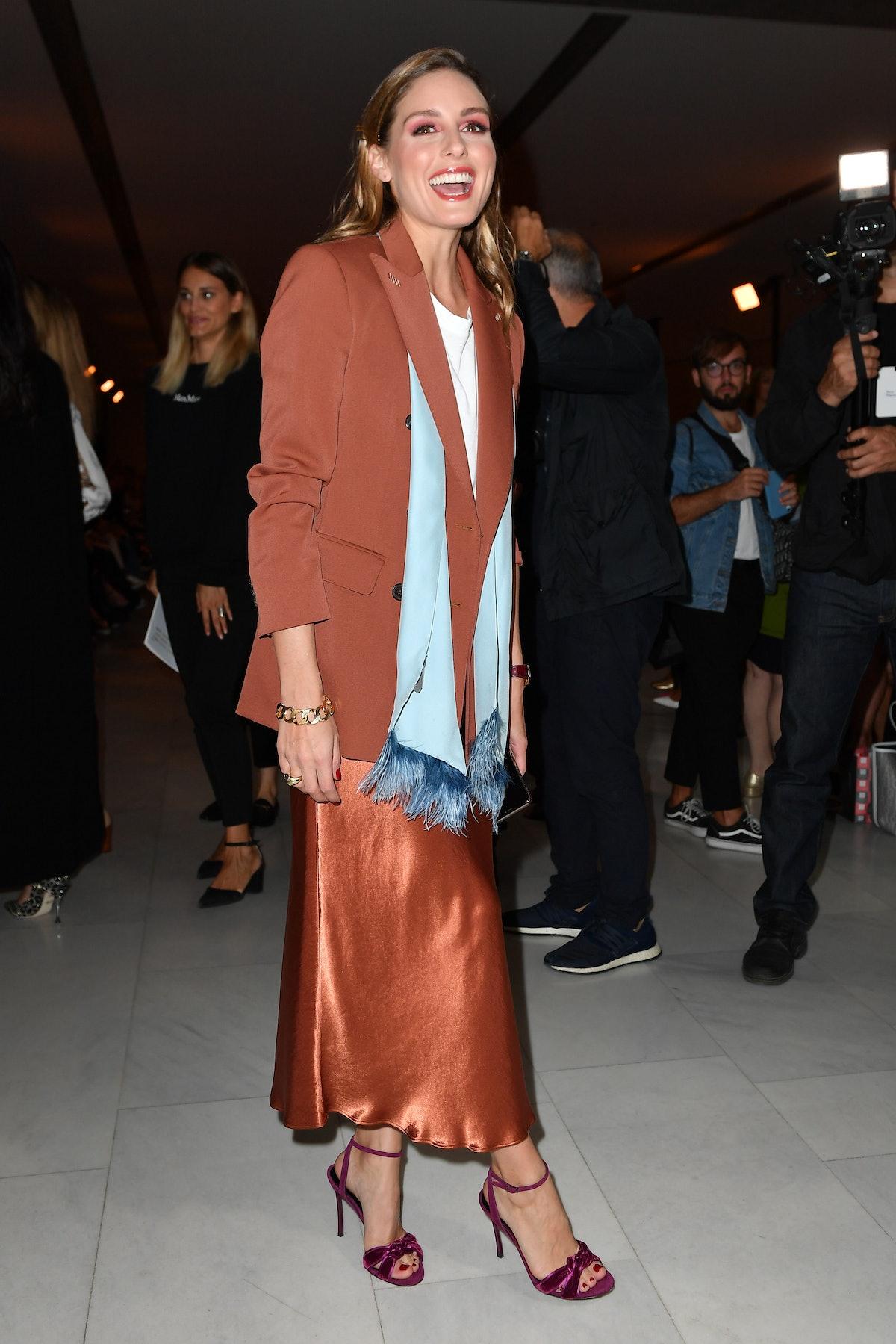 Max Mara - Front Row - Milan Fashion Week Spring/Summer 2020