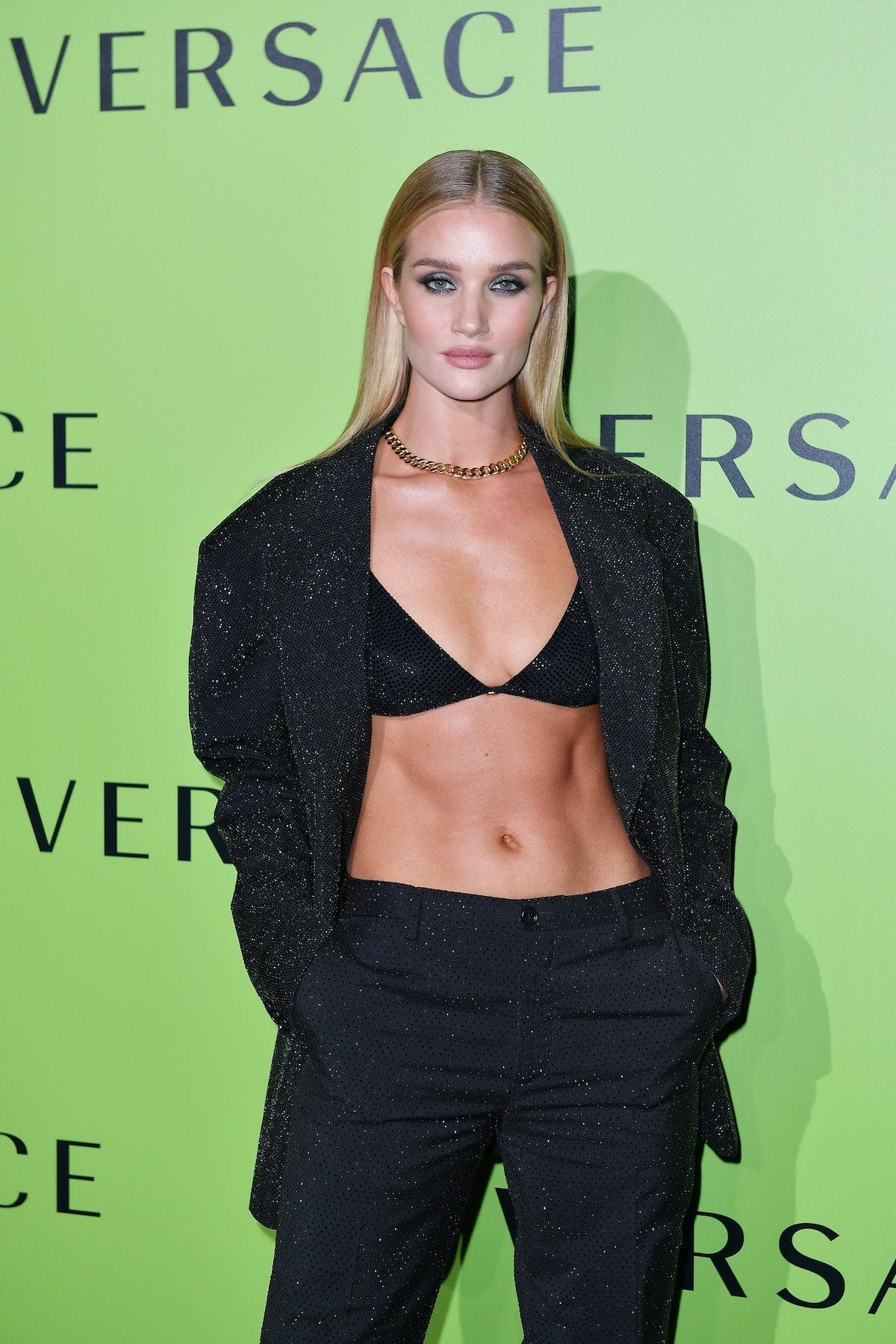 Versace - Front Row - Milan Fashion Week Spring/Summer 2020