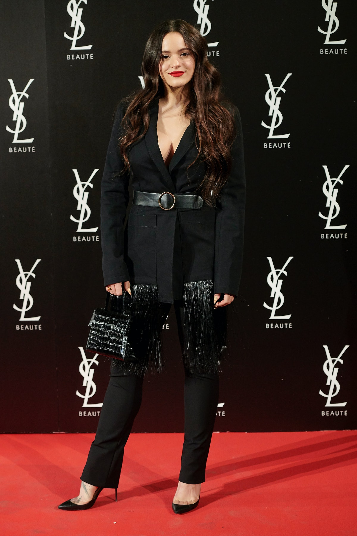 Yves Saint Laurent The Slim Rouge PurCouture Party Photocall