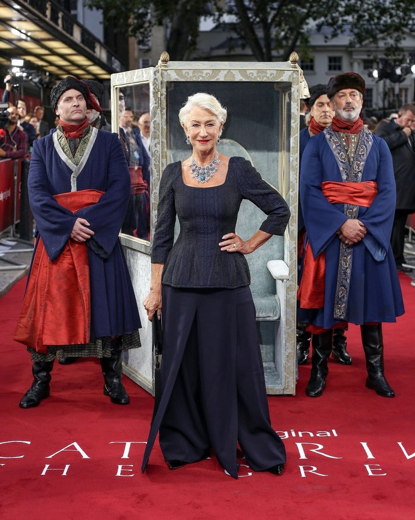 """""""Catherine The Great"""" UK TV Premiere  - Red Carpet Arrivals"""