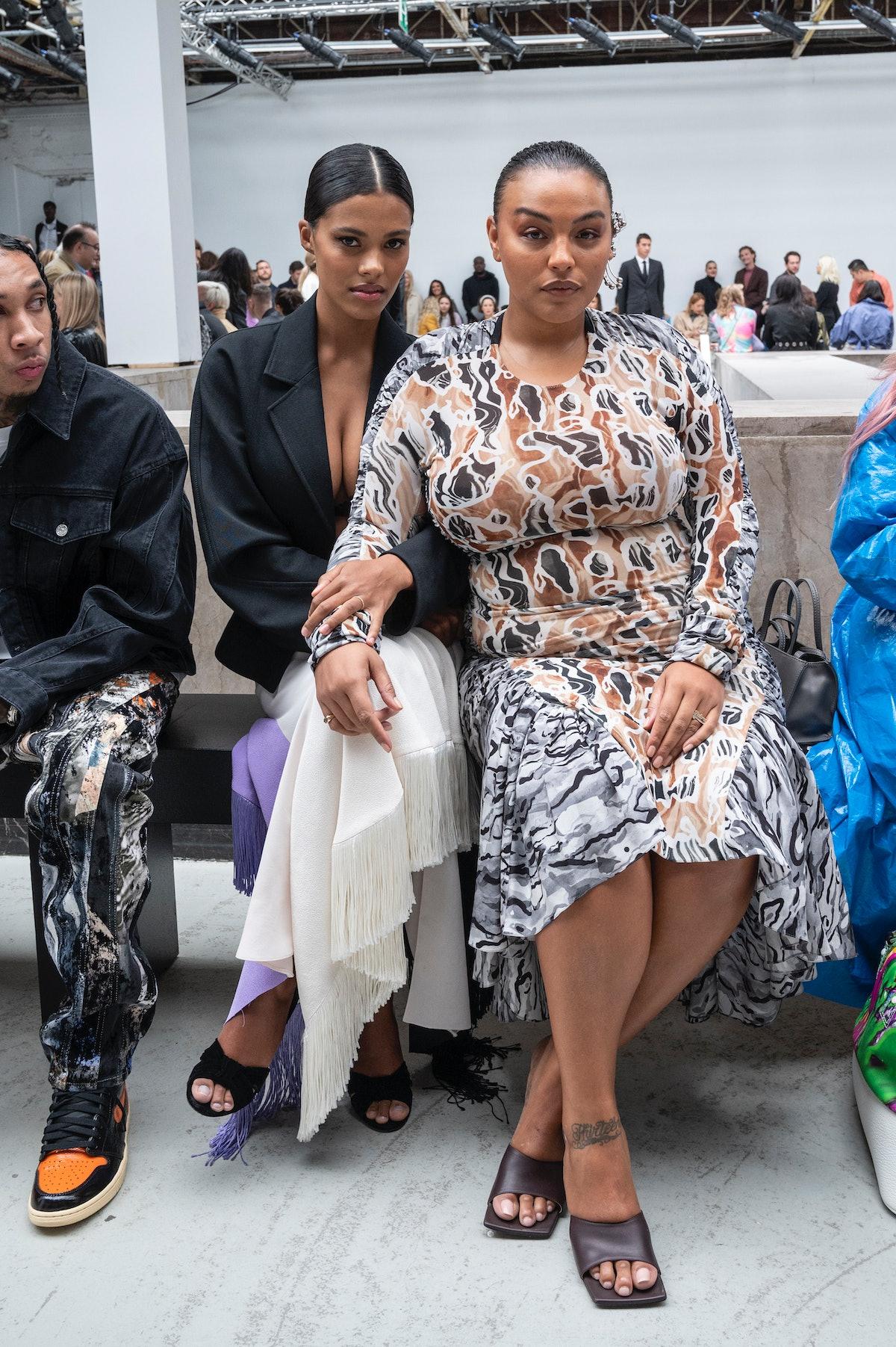 Mugler : Front Row -  Paris Fashion Week - Womenswear Spring Summer 2020