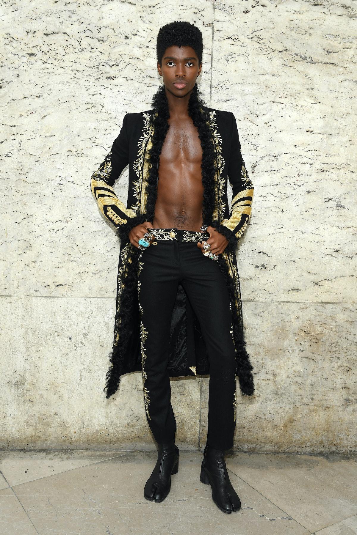 Paco Rabanne : Front Row -  Paris Fashion Week - Womenswear Spring Summer 2020