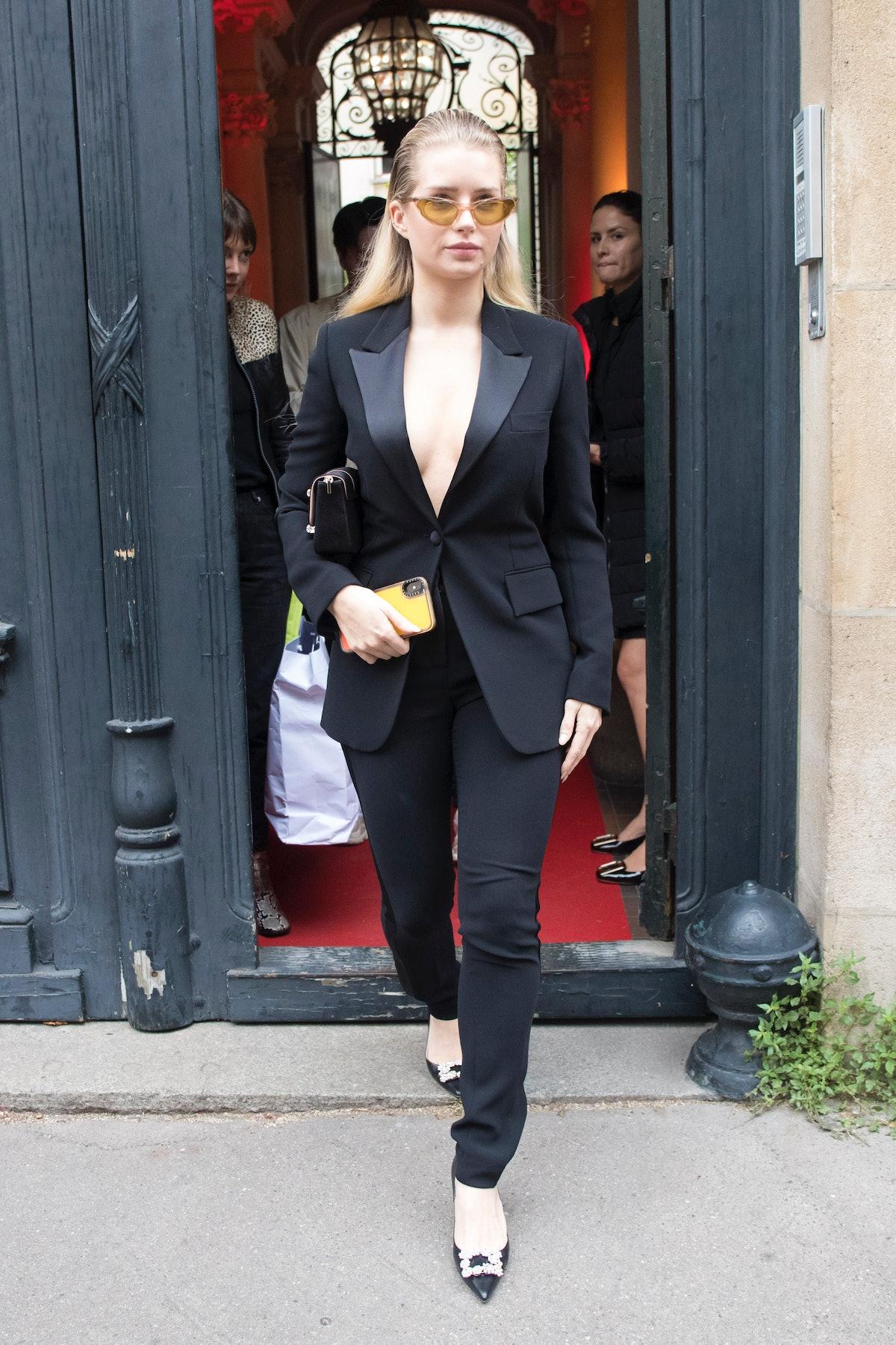 Celebrity Sightings In Paris - September 26, 2019