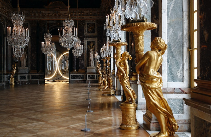 Olafur Eliasson's Exhition : Press Preview At The Versailles Palace