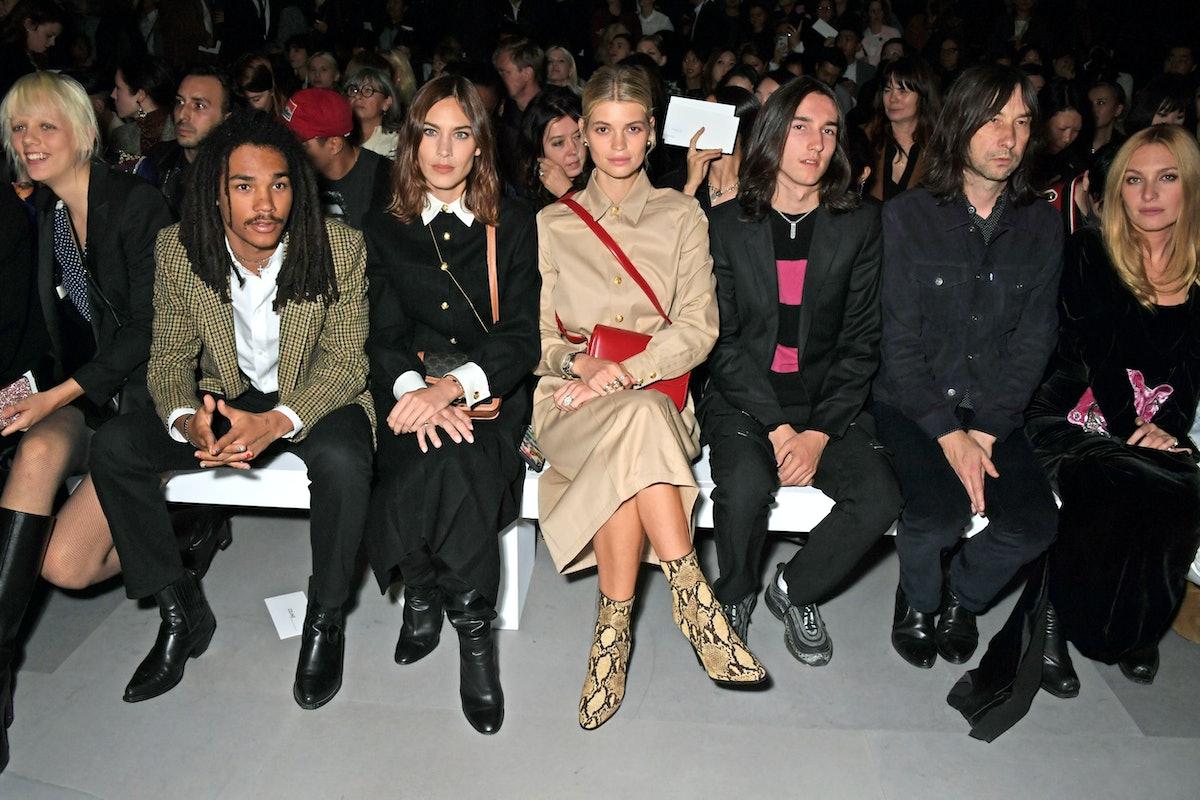 Celine : Front Row -  Paris Fashion Week -  Womenswear Spring Summer 2020
