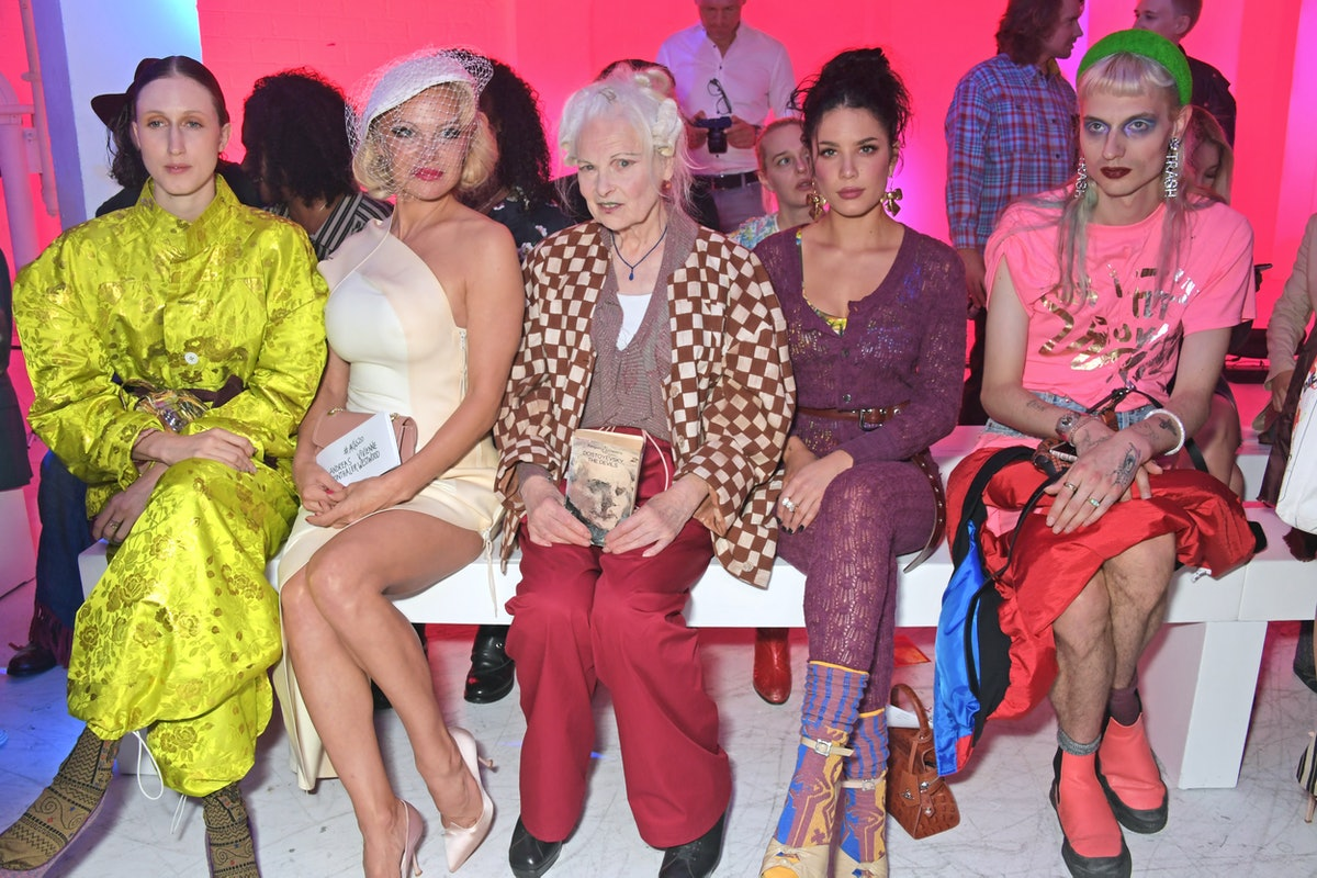 Andreas Kronthaler For Vivienne Westwood : Front Row - Paris Fashion Week - Womenswear Spring Summer 2020