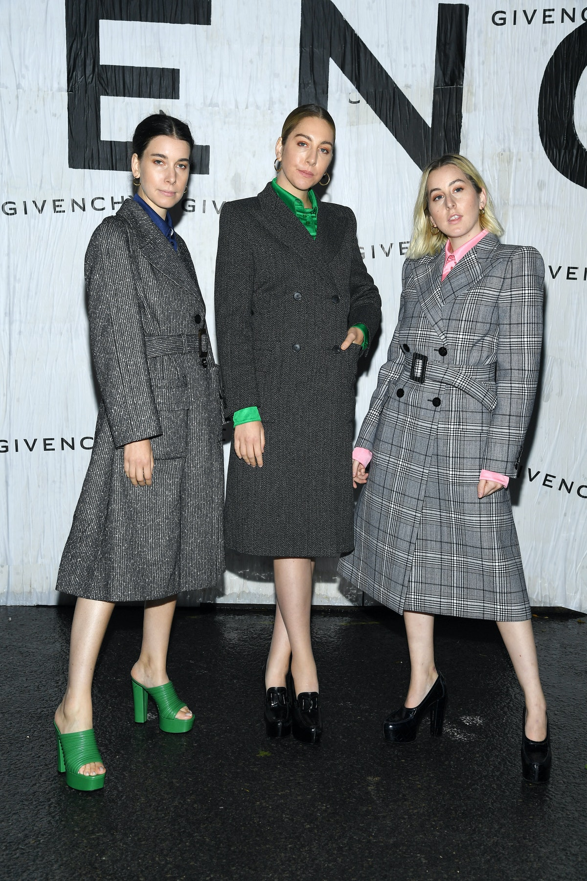 Givenchy : Front Row - Paris Fashion Week - Womenswear Spring Summer 2020
