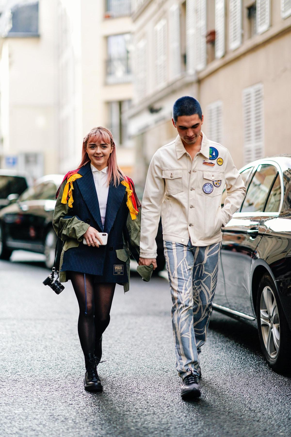 Street Style - Paris Fashion Week Womenswear Fall/Winter 2019/2020 : Day Eight