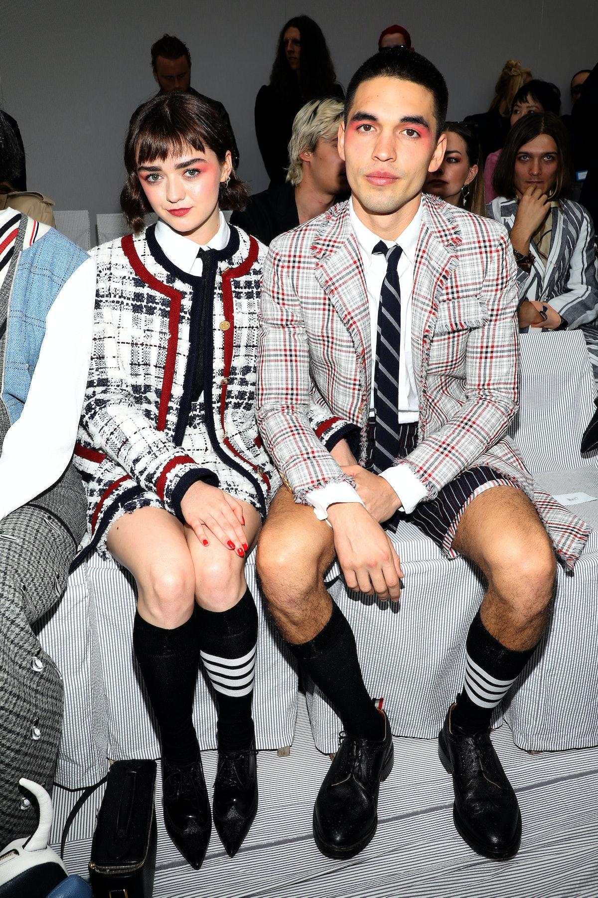 Thom Browne : Front Row -  Paris Fashion Week - Womenswear Spring Summer 2020