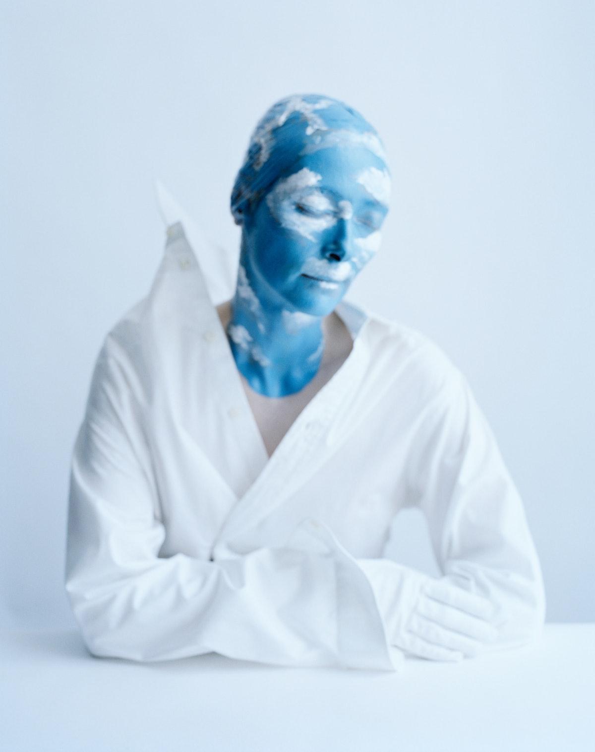 Tilda Swinton as Mother Nature by Tim Walker
