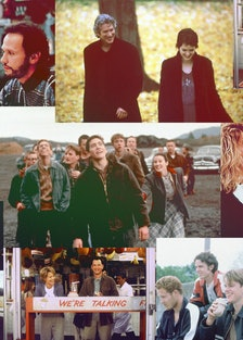 WHEN HARRY MET SALLY..., (aka QUAND HARRY RENCONTRE SALLY...), front from left: Meg ryan, Billy Crys