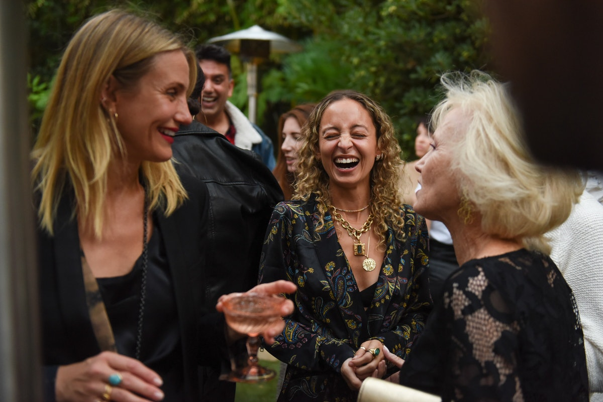 [Private For Approval] Jamie Mizrahi and Simone Harouche Celebrate the Launch of The KiT Undergarmen...