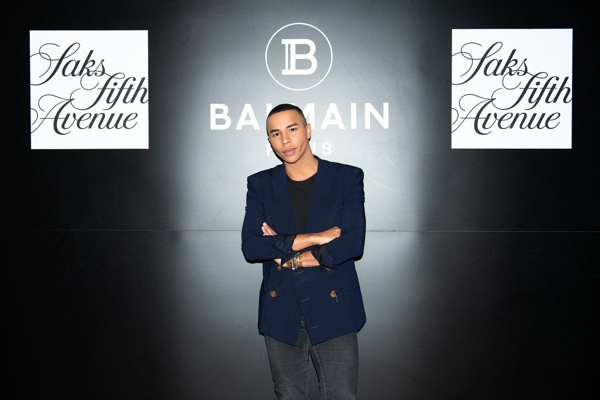 SAKS FIFTH AVENUE AND BALMAIN HOST PRIVATE COCKTAIL WITH OLIVIER ROUSTEING AT LE CHALET AT L'AVENUE ...