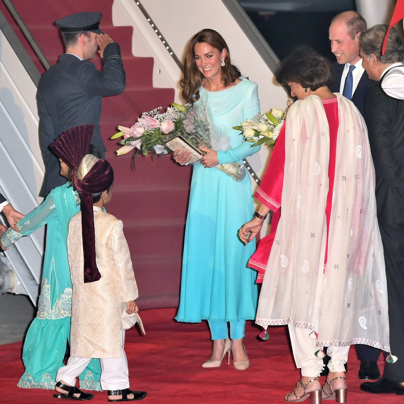 The Duke And Duchess Of Cambridge Visit Islamabad - Day One