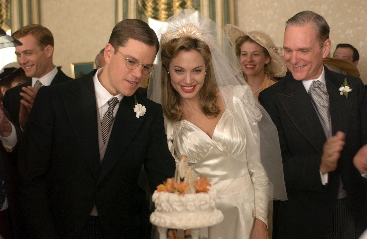 THE GOOD SHEPHERD, Matt Damon, Angelina Jolie, 2006. ©Universal/courtesy Everett Collection