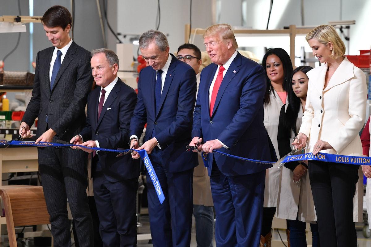 US-LUXURY-GOVERNMENT-VUITTON-TRUMP