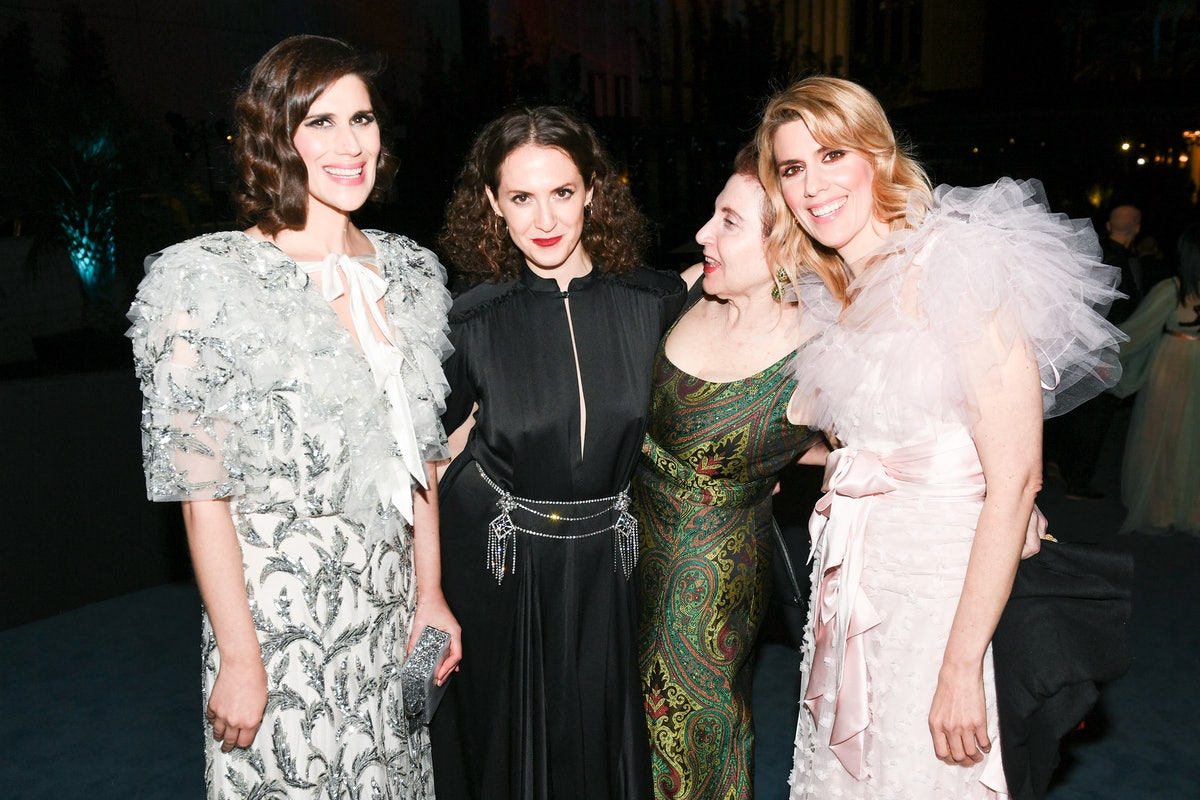 Laura Mulleavy, Sara Moonves, Lynn Hirschberg and Kate Mulleavy at the 2019 LACMA Art + Film Gala in...