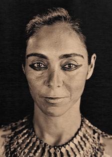 Portrait of Shirin Neshat, by Lyle Ashton Harris. Courtesy of the artist and CRG Gallery, NY.