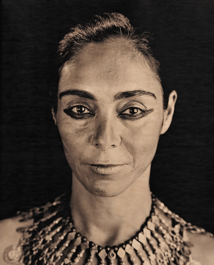 Portrait of Shirin Neshat, by Lyle Ashton Harris. Courtesy of the artist and CRG Gallery, NY.
