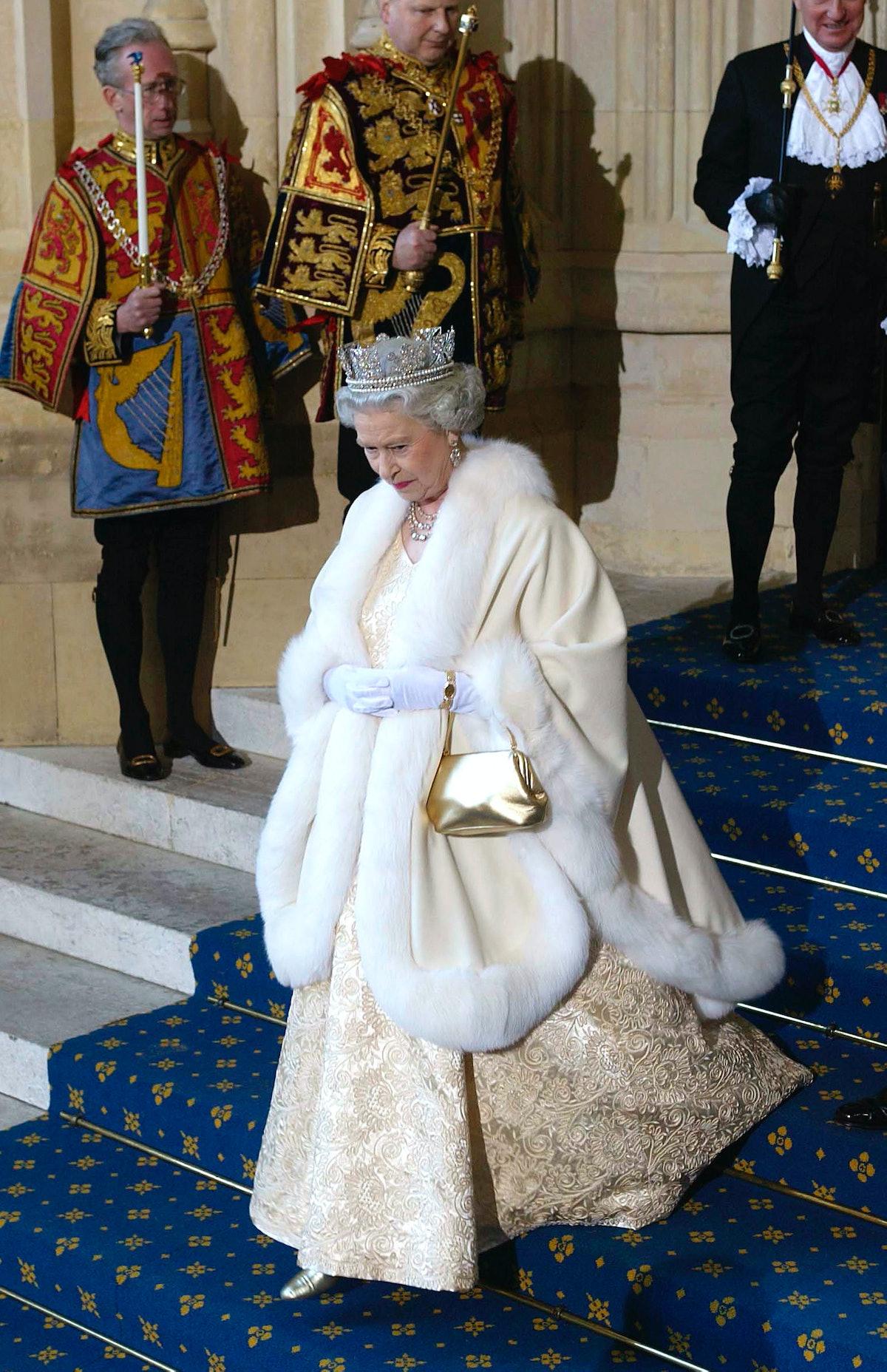 Queen At Parliament
