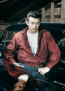 James Dean in Rebel Without a Cause