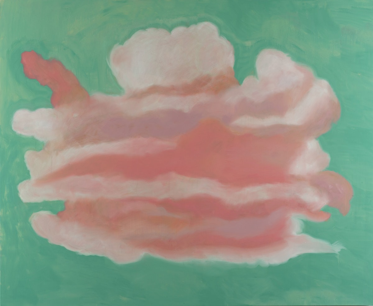 *Clouds* by Francesco Clemente, 2018. Courtesy the artist and Vito Schnabel Gallery.