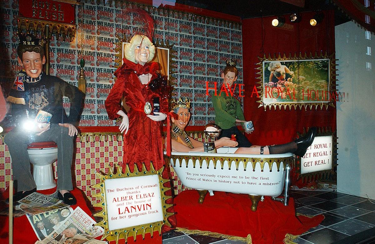 Barneys Window Satirizes British Royals