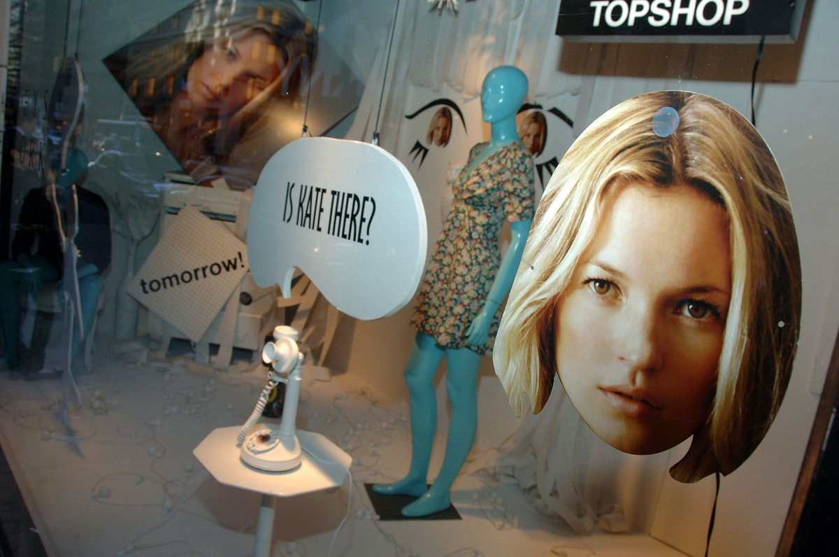 Kate Moss Launches TopShop At Barneys New York