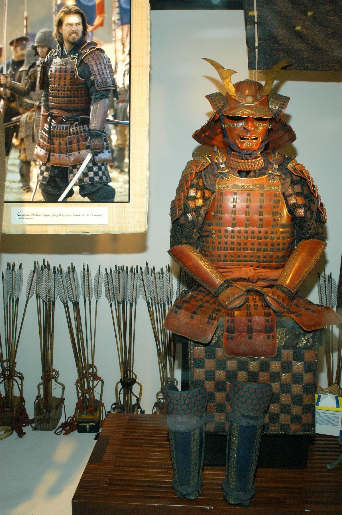 """The Last Samurai"" Costumes on Display at Barneys New York"