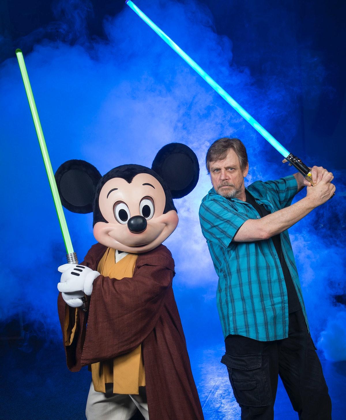 Mark Hamill Visits Walt Disney World For Star Wars Weekends 2014