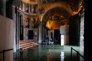Venice Floods Cause Mayor To Declare State Of Emergency
