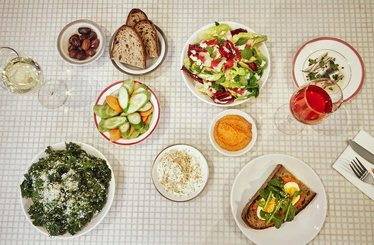 Mina's spread. Photo courtesy of Flora Hanitijo.