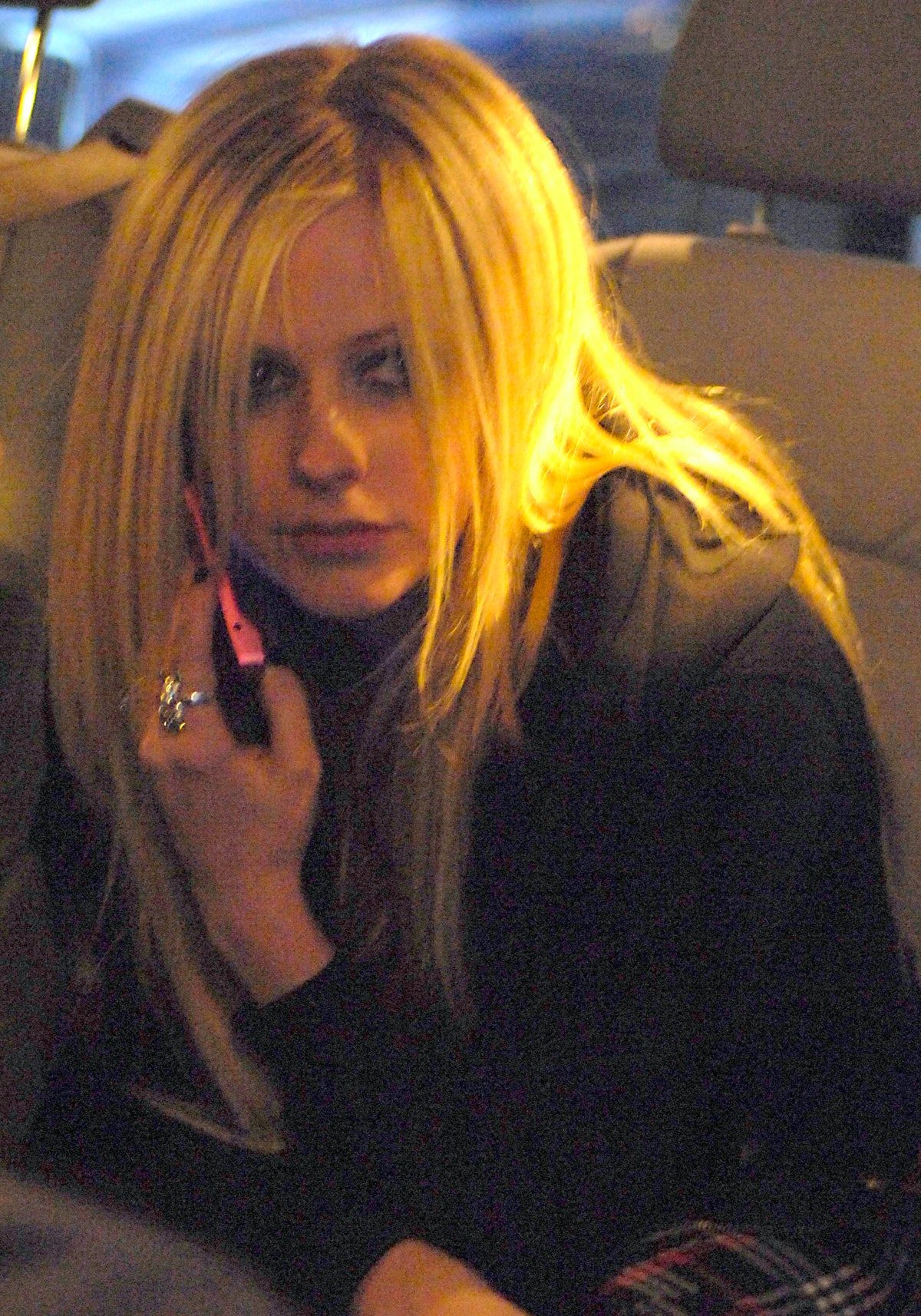 Avril Lavigne Sighting at the Mayfair Hotel in London - March 21, 2007