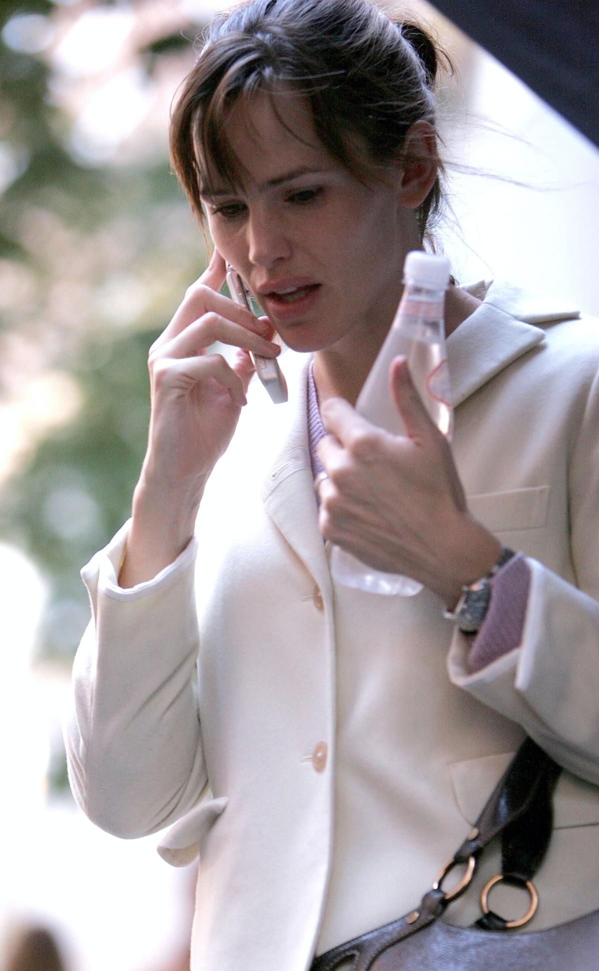 Ben Affleck, Jennifer Garner and Kelly Ripa Sightings in New York City - October 21, 2007