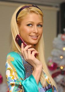 Paris Hilton Promotes the Launch of Motorola's MotoRAZR in Japan at DoCoMo Shop Shibuya