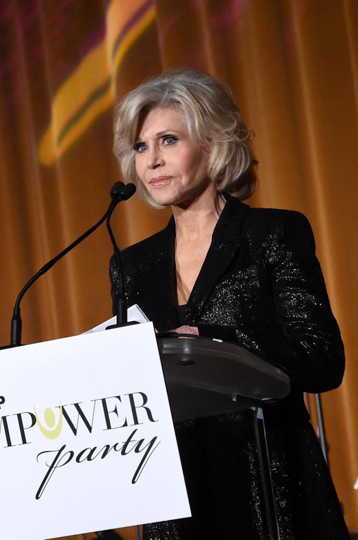 "Jane Fonda, Sheryl Crow Headline ""Empower Party"" In Atlanta For Youth"