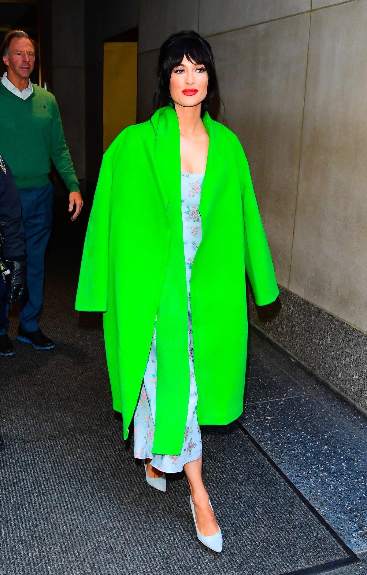 Celebrity Sightings In New York City - November 21, 2019