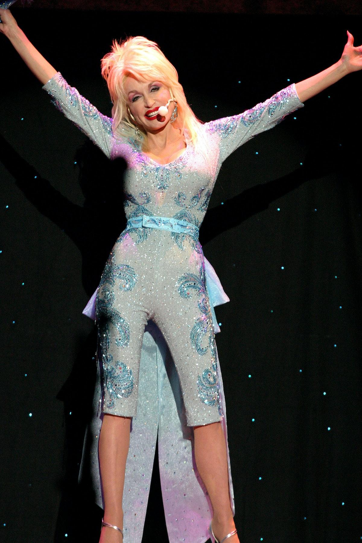 Dolly Parton Performs At Caesars