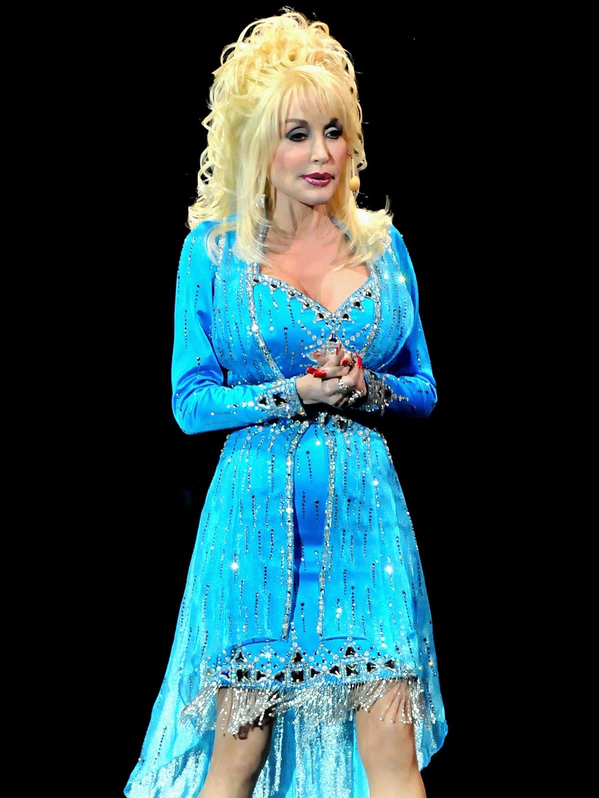 Dolly Parton Performs At O2 Arena