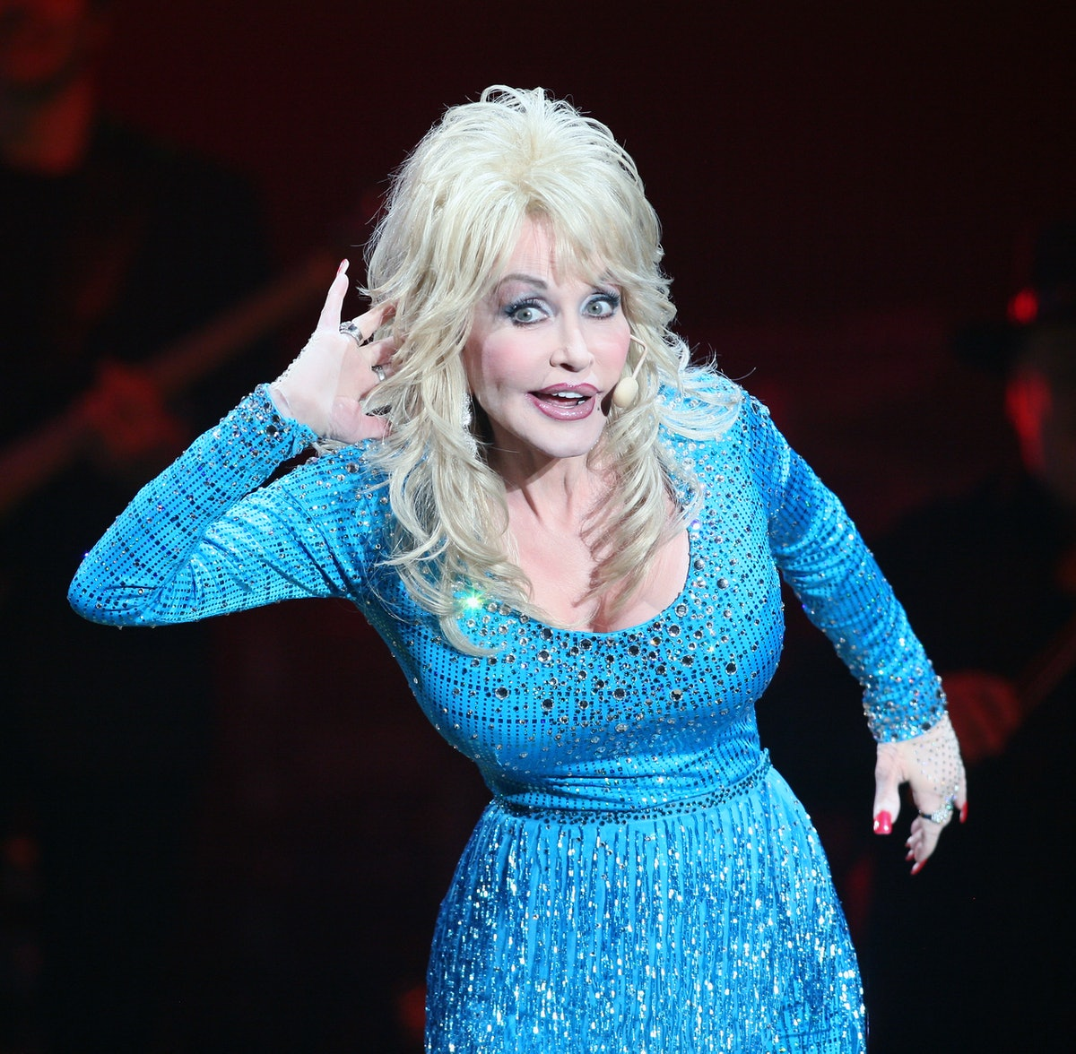 Dolly Parton Performs in Bournemouth