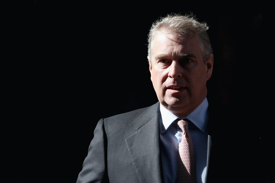The Duke Of York, The UK's Special Representative For International Trade and Investment Visits Crossrail