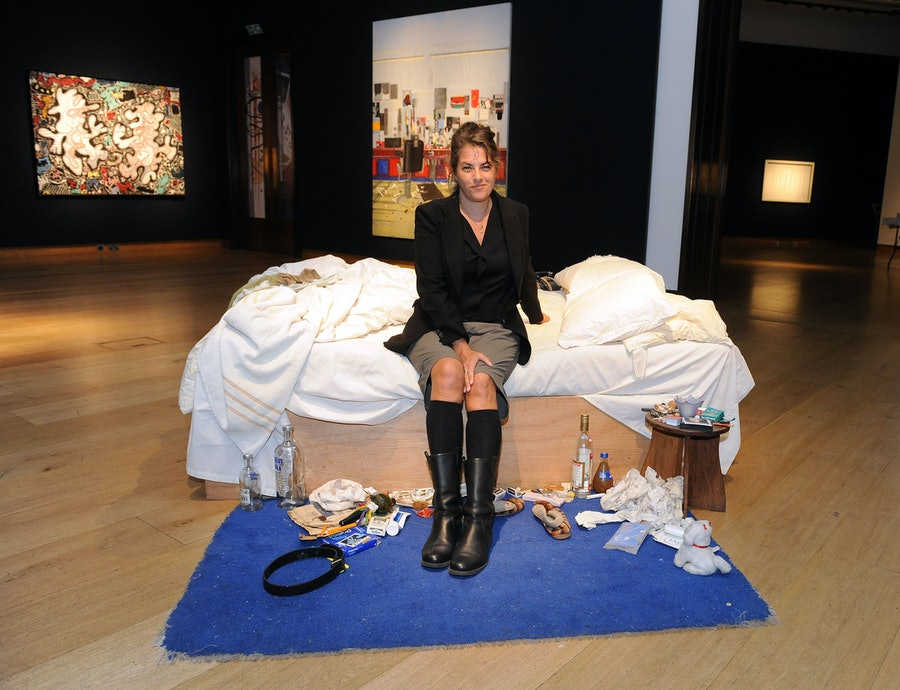 Tracey Emin's My Bed at Christie's - London
